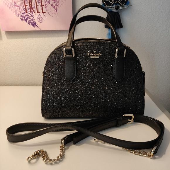 fda872cfb263 kate spade Handbags - kate spade laurel way glitter mini reiley satchel